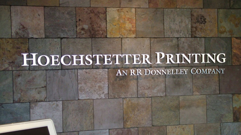 Custom Letter Signs, Dimensional Letter Sign, Indoor Signs, Indoor Signage, Office Signs, Hotel Signs, Pittsburgh Signs, Pittsburgh Commercial, Signs, custom signs, outdoor signs, indoor signs, metal letters, plastic letters, acrylic letters, sign shop