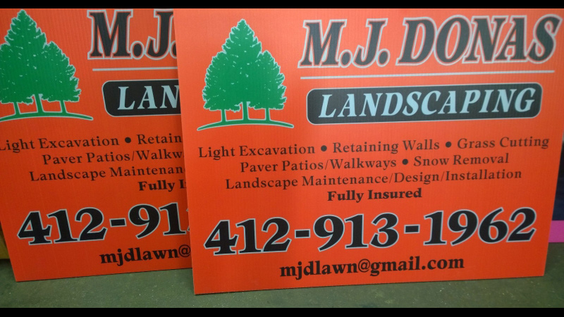 Pittsburgh Job Site Signs, Pittsburgh Real Estate Signs, Job Site Signs, Real Estate Signs, Yard Sign, Pittsburgh Signs, Job Site Sign, Real Estate Sign, Outdoor Signage, house sign, business sign, digitally printed signs, digitally printed banners