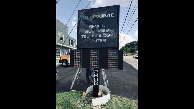 Pittsburgh Illuminated Signs, Illuminated Signs, Pittsburgh Commercial Signs, Backlit Signs, Boxlit signs, light up sign, Illuminated Signage, Illuminated Sign Box, LED sign, outdoor sign, digitally printed sign, light sign, electronic sign, led lights